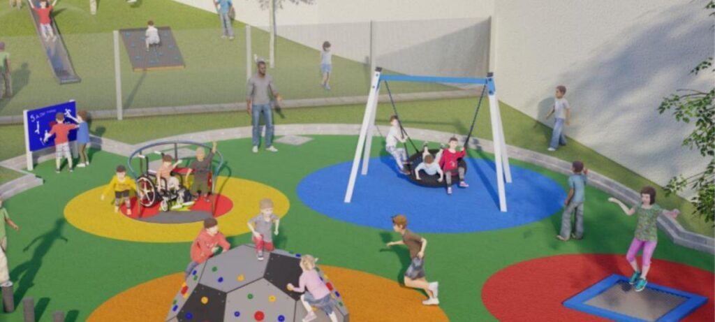 Exciting Academy Developments - Circle Playground